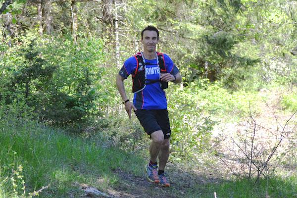 Remi Voisin, vainqueu du Trail du Bucheron 2014