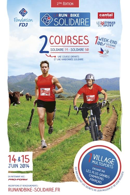 Run & Bike Solidaire 2014, les 14 et 15 juin à Vic sur Céré