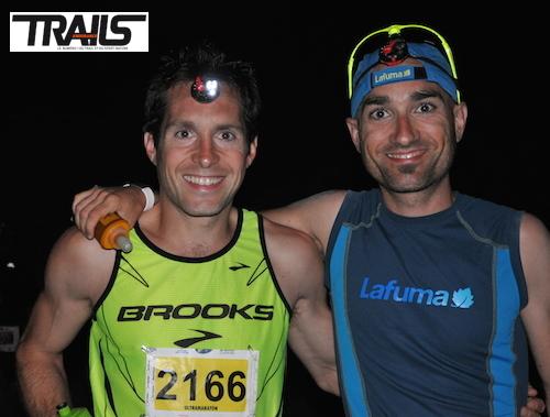 Transvulcania 2014 - Maxime Cazajous et Julien Jorro