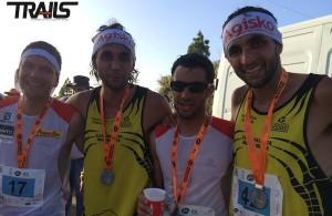 Transvulcania 2014 - podium KV