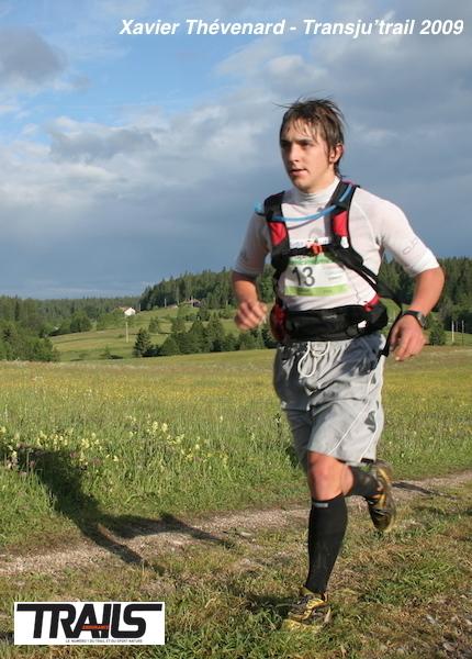 Xavier Thévenard, Transju'Trail 2009