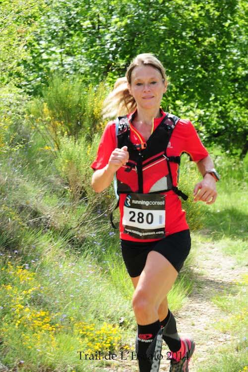 Trail de l'escalo 2014, support du 1er Championnat de France de Trail FSGT 2014