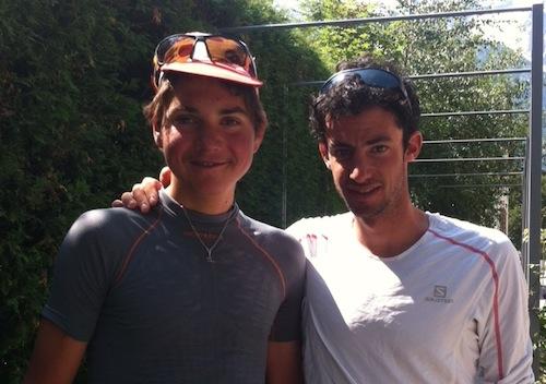 Kilian Jornet et Matheo Jacquemoud