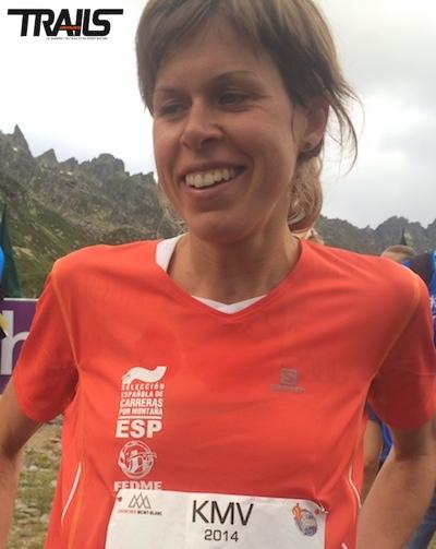 Laura Orgue Villa, vainqueur et record sur le KV de Chamonix Mont-Blanc 2014