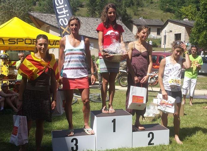 Lozere Trail 2014 - podium dames 45km