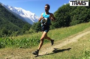 Luis Alberto Hernando, vainqueur du 8Okm du Mont Blanc 2014