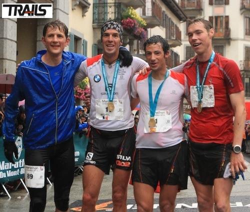 Podium 2014 marathon du Mont Blanc