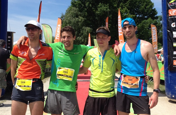 Podium Marathon race 2014