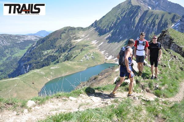 Trail du Gypaete - lac