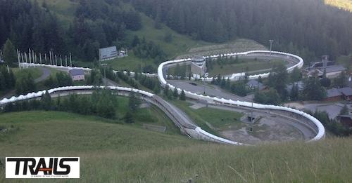 6000 D passage piste de Bobsleigh