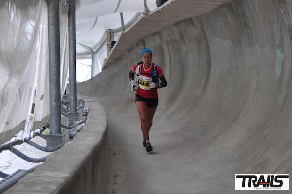 Maud Gobert vainqueur de la 6000 D 2014