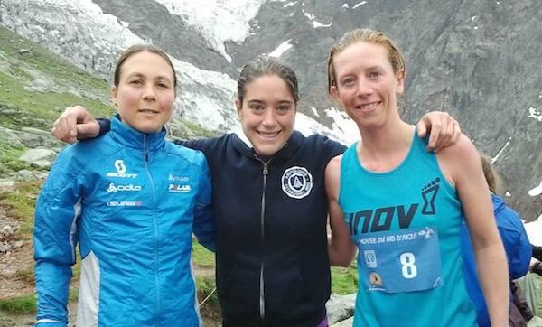 podium femmes 2014 de la montée du Nid d'Aigle