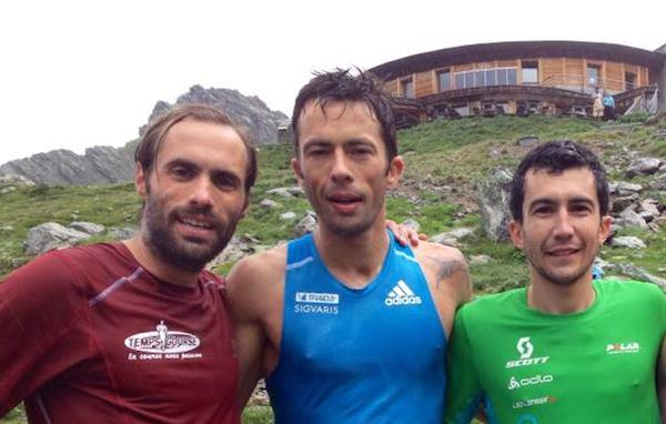 podium hommes 2014 de la montée du Nid d'Aigle