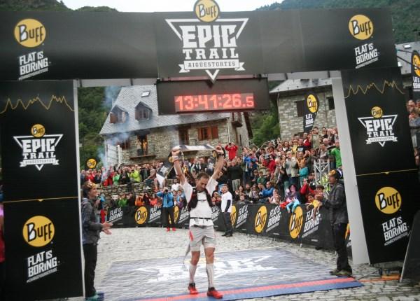 Buff Epic Trail 2014 - victoire de Iker Karrera