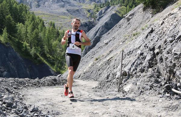 Greg Vollet 1er 42 km trail Ubaye Salomon photo Robert Goin