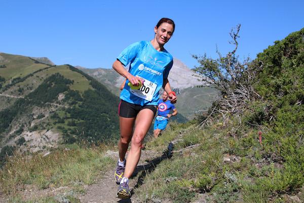 Laetitia Dardanelli 1ère dame 23km Trail Ubaye Salomon photo Stéphane Pillet
