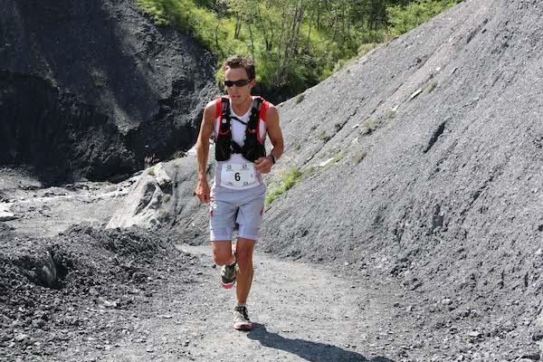Matthias Mouchart 2ème 42 km trail Ubaye Salomon 2014 photo Robert Goin