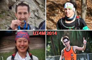 UT4M 2014, 4 coureurs, 4 pays, 4 portraits