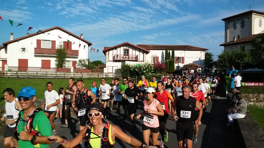 depart course de la Rhune 2014