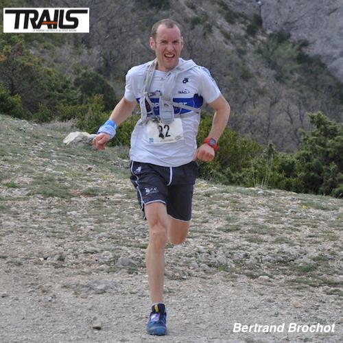 Bertrand Brochot au départ des Championnats de France de Trail Court 2014