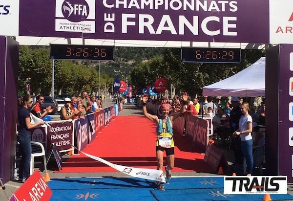 Caroline Chaverot - Championne de France de Trail 2014