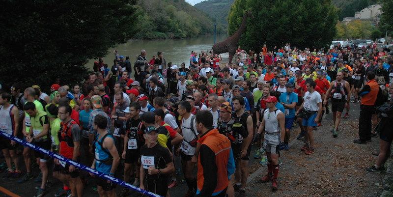 Depart Raspes E Trail 2014