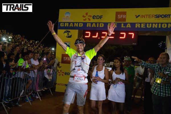 Francois D'HAene vainqueur du Grand Raid de la Reunion 2014