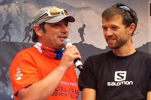 Francois D'Haene - vainqueur de l'UTMB 2014