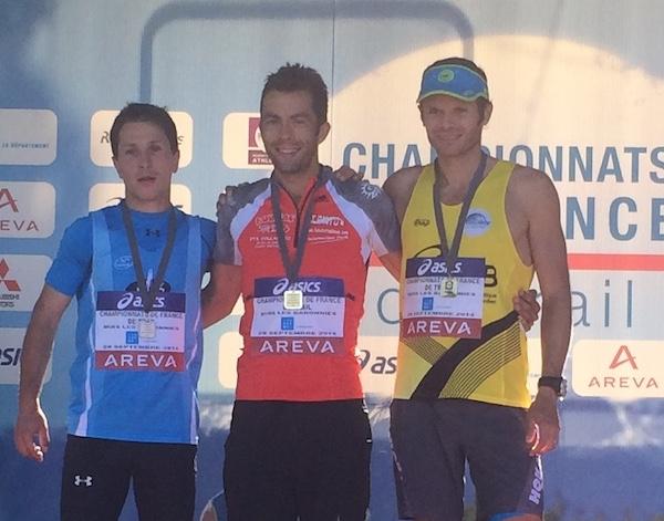 Ludo Pommeret, 3eme des Championnats de France de Trail 2014