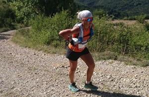 Maud Gobert - 2nde aux Championnats de France de Trail 2014