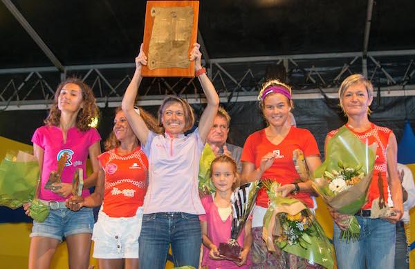 Nathalie Mauclair - vainqueur du Grand Raid de la Réunion 2013