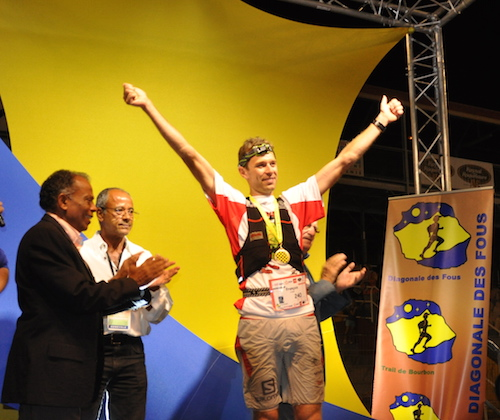 Reunion - Francois D'Haene vainqueur en 2013