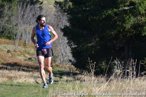 Stephane Brogniart - 3ème du Belbort Trail 2014