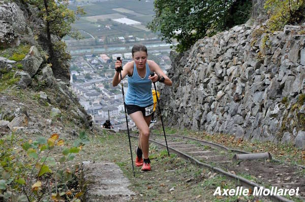 Axelle Mollaret, 4eme femme (et 2eme Française) en 38min25s - Fully 2014