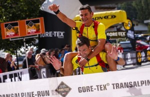 GORE-TEX Transalpine Run 2014 - Pascal Giguet et David Pasquio