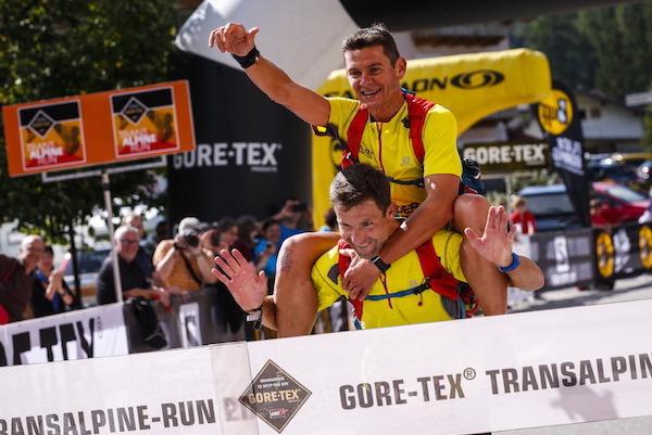 GORE-TEX Transalpine Run 2014 - Pascal Giguet et David Pasquio