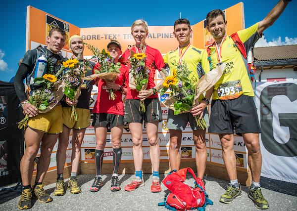 GORE-TEX Transalpine Run 2014 - podium pour Pascal Giguet et David Pasquio