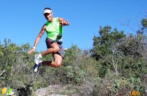 Julien Navarro, vainqueur des trails longs du challenge de Provence 2014