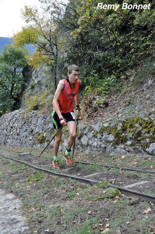 Le Suisse Remy Bonnet, 3eme en 30min44s - Fully 2014