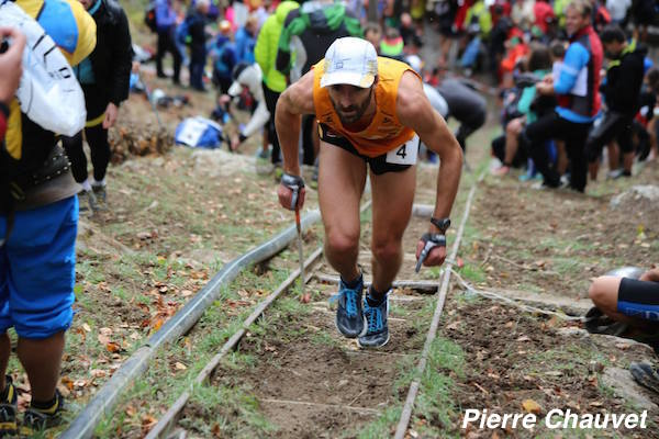Pierre Chauvet (11eme et 2eme Francais) en 32min49s - Fully 2014