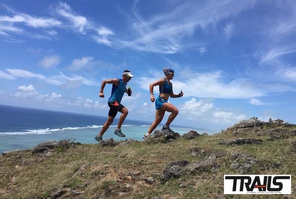 Trail de Rodrigues - vue sur le lagon - Fred Bousseau