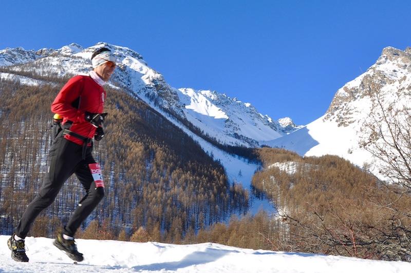 Trail Blanc Serrre Chevalier