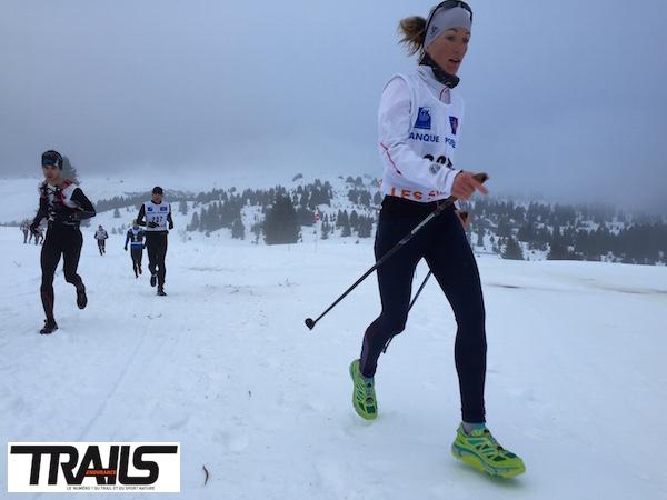 Trail de Noel aux Saisies - Jessica Pardin