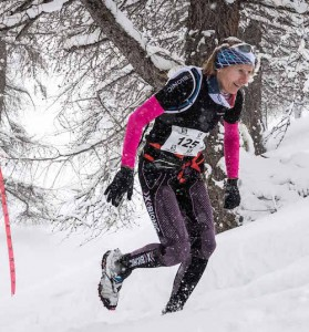 Trail Ubaye Salomon 2015 - 22 km 3e Céline Dodin photo Remi Morel