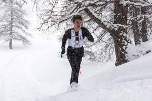 Trail Ubaye Salomon 2015 - 22 km Nathan Jovet 1er junior photo Remi Morel