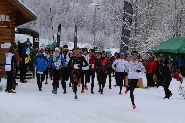 Trail Ubaye Salomon 2015 - Depart du 22 km photo Robert Goin