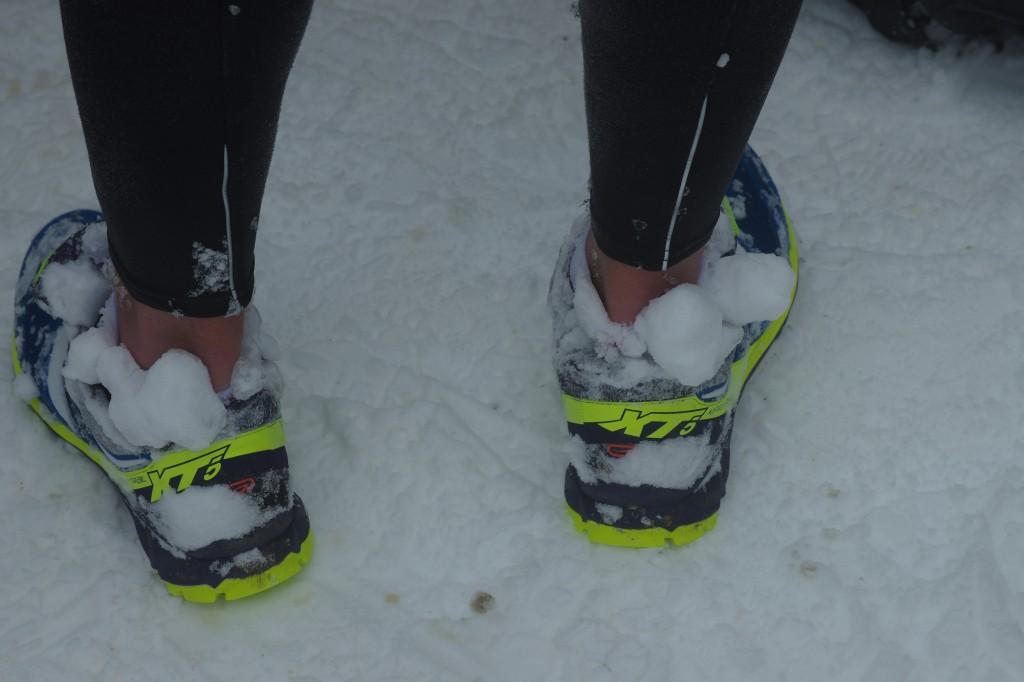 Trail Blanc d'Issarbe dans la neige