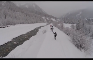 Video Ubaye Snow Trail Salomon 2015