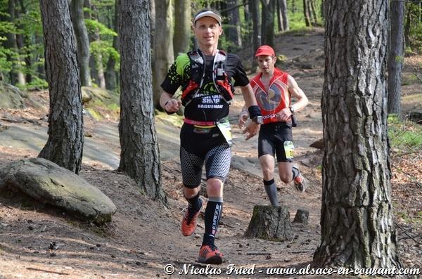 Trophée des Vosges et Trail Tour Alsace, Challenges Trail de l'Est 2015