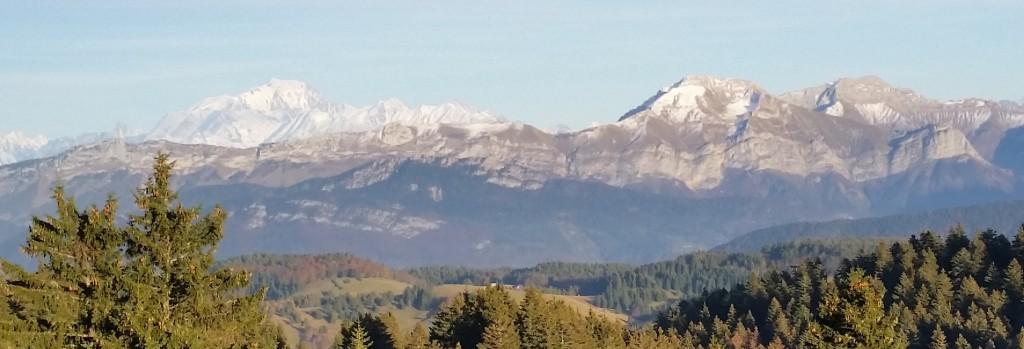 Interlac 2015 - les Bauges et le massif du Mt Blanc